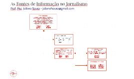 As Fontes de Informação no Jornalismo