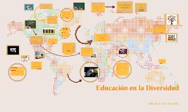 Copy of La Diversidad Cultural en la Educación