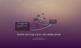 Alcohol and Drug Use in Early Adolescences