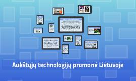 Aukštųjų technologijų pramonė Lietuvoje