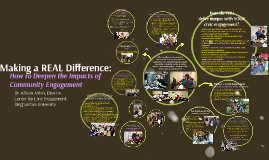 Copy of Making a REAL Difference: