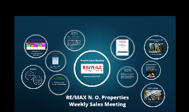 Weekly Sales Meeting, May 1, 2019