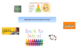 Goddard High School Special Education Programs