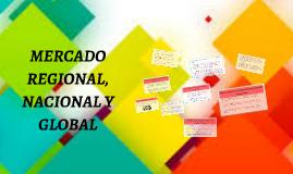 MERCADO REGIONAL, NACIONAL Y GLOBAL
