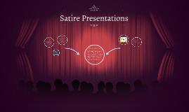 Satire Presentations