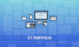 ICT PORTFOLIO