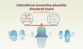 international accounting education standards board