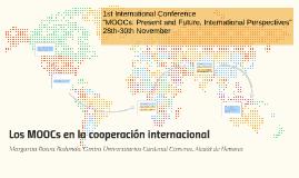 Los MOOCs en la cooperación internacional