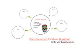 Kleurbekenen Festival Mundial