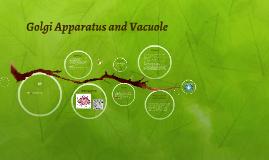 Copy of Golgi Apparatus and Vacuole