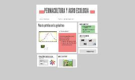 Copy of PERMACULTURA Y AGRO ECOLOGIA