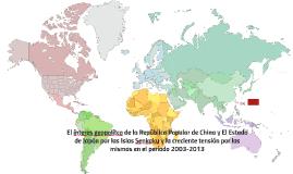 El interes geopolítco de la República Popular de China y El