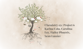 Chemistry 151: Project 6