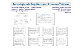 Copy of Teoría de la Arquitectura