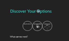 Discover Your Options