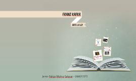 Franz Kafka- Ante la Ley