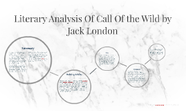 a literary analysis of the call of the wild by chris rochefort
