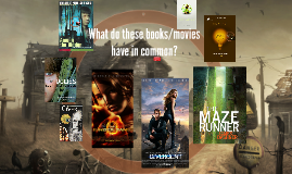 What do these books/movies have in common?