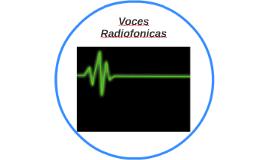 Voces Radiofonicas