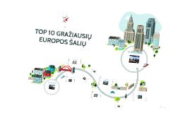 TOP 10 GRAŽIAUSIŲ EUROPOS ŠALIŲ