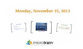 Monday, November 25, 2013