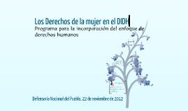 Copy of Los derechos humanos de las mujeres en el derecho internacional