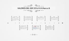 VALORES DEL SER 2016