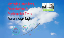 MG2554 Week 9 - Mastering Interviews, Presentations & Psychometric Tests