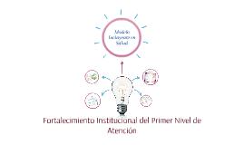Copy of Modelo Incluyente en Salud
