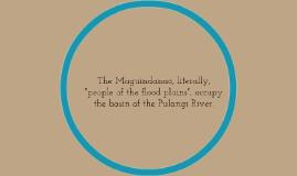 Maguindanao Tribe