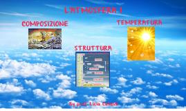 Atmosfera 1: composizione e struttura