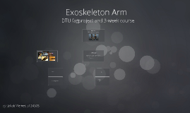 Copy of Exoskeleton - 3-week course