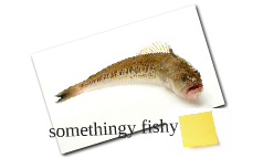somethingy fishy
