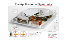 Copy of Copy of The Application of Spintronics