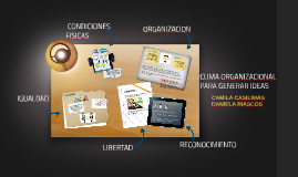 CLIMA ORGANIZACIONAL PARA GENERAR IDEAS