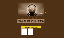 2T- Future Tense