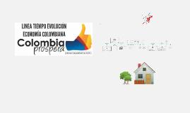 Copy of Linea Tiempo Evolución Economía Colombiana