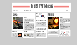 FORJADO Y FUNDICION