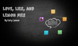 Love, Lies, and Lemon Pies
