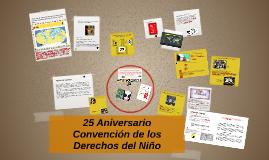 25 Años de Derechos Humanos para la Infancia