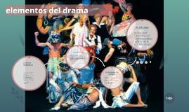 Copy of elementos del drama