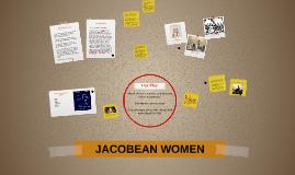 JACOBEAN WOMEN