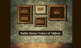 Battle Heros: Voices of Afghan