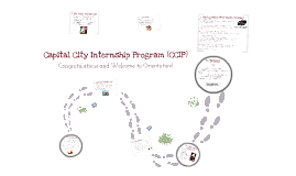 Capital City Internship Program (CCIP)