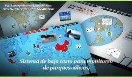 Copy of Sistema de bajo costo para parque eolicos