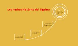 La historia del algebra comenzó en el antiguo Egipto y babil