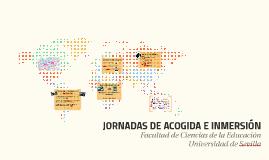 JORNADAS DE ACOGIDA E INMERSIÓN
