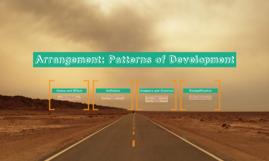 Arrangement: Patterns of Development