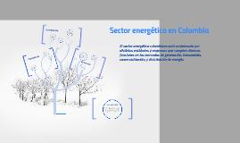 Sector energético en Colombia