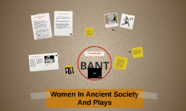 Women In Ancient Plays